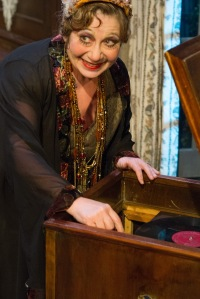 Francie Goodwin-Davies in Blithe Spirit. Photo credit: Rad Grandpa Photography.