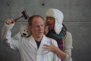 Greg Cebuliak and Marcia Rigney. Photo credit Tristin Deveau.