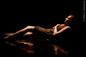 Allison Burns in For Body and Light. Photo credit: Svetla Atanasova