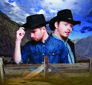 Peter n' Chris and the Kinda OK Corral. Photo credit: Alex Waber