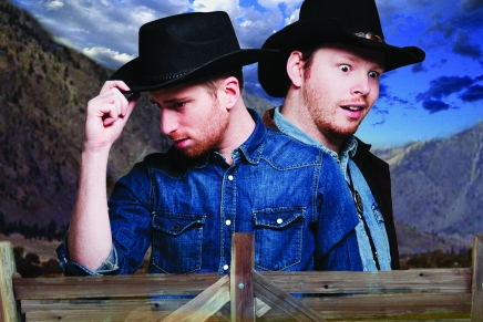Peter n' Chris and the Kinda OK Corral at Edmonton Fringe Festival