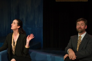 Nicolle Lemay and J. Nelson Niwa in Six Degrees of Separation. Photo credit: Rad Grandpa Photography/ Douglas Stewart
