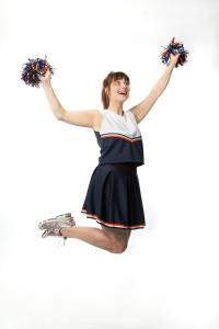 Joleen Ballendine in Cheerleader! Photo credit: Ryan Parker / PK photography