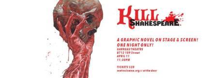 Kill Shakespeare: fan fiction like you haven't seenbefore