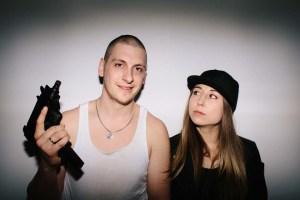 Elliot James and Andréa Jorawsky in the Suburban Motel Series. Photo credit Mat Simpson.
