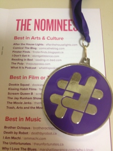 2014 Yeggie medal and Arts & Culture category nominees