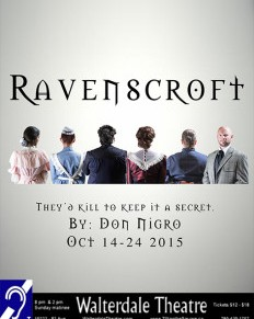 A murder – or not – mystery: Ravenscroft at Walterdale