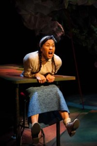 Tiffany Ayalik in Café Daughter. Photo credit Mat Busby.