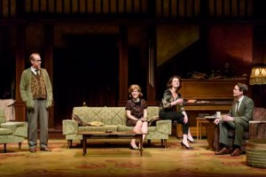 Tom Rooney, Ava Jane Markus, Brenda Robins, and Jay Clift in Who's Afraid of Virginia Woolf? Photo credit: EPIC Photography.