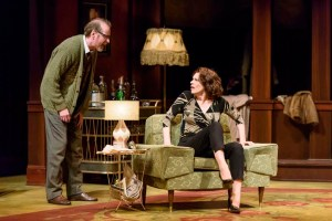 Tom Rooney and Brenda Robins in Who's Afraid of Virginia Woolf? Photo credit: EPIC Photography.