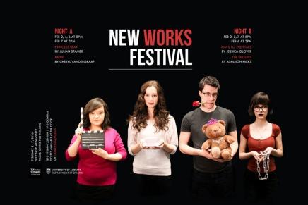 University of Alberta's New Works Festival showcases what's next in Edmontontheatre