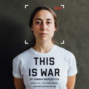 Andréa Jorawsky in This is War. Photo credit: Mat Simpson
