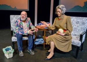 Brian Dooley and Manon Beaudoin in La Passion de Narcisse Mondoux/ The Passion of Narcisse Mondoux. Photo credit: Ian Jackson, EPIC Photography