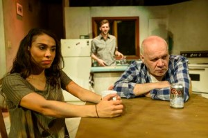 Patricia Cerra, Joe Perry, and Brian Dooley in Gordon.