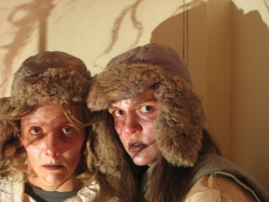 Rebecca Starr and Laura Raboud in Swallow. Photo credit: Eileen Sproule