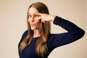 Stéphanie Morin-Robert in Blindside. Photo credit: Thaddeus Hink