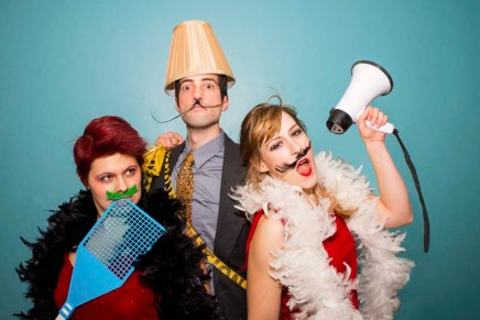 Mustache Party! The Dalí Show at the Edmonton Fringe Festival