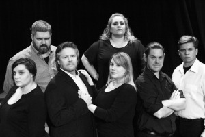 Back row: Mark Finlay, Melanie Lafleur. Front row: Kate Wylie, Todd Hauck, Lauren Pearson,   Matt Boisvert, and Jesse Setka in Chess. Photo credit: Janine Hodder