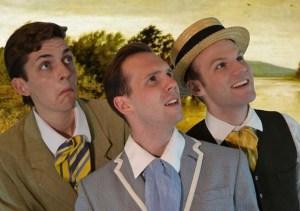 The Three Men from Left to Right: Victor Pokinko, Matt Pilipiak, and Scott Garland. Photo credit: Mark Brownell