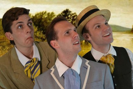 Three Men in a Boat at the Edmonton Fringe Festival