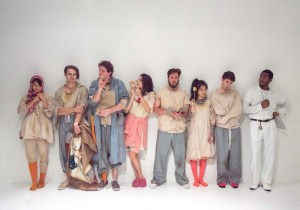 The cast of The Golden Smile. Photo credit: Eliza Rinn