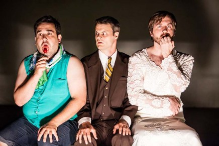 Four Humors' Lolita: A Three Man Show at the Edmonton Fringe Festival