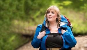 Ellen Chorley in Trail and Error. Photo credit: David McQueen.
