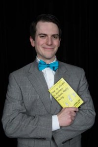 Frank Keller in How to Succeed in Business Without Really Trying. Photo credit Nanc Price Photography.