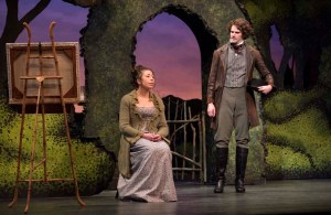 Madison Walsh and Patrick Dodd in Sense & Sensibility at the Citadel Theatre April 27 - May 14. Photo credit: David Cooper Photography