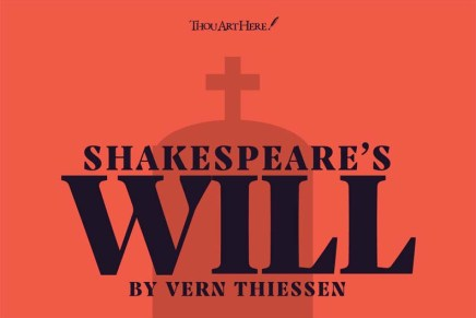"""A life in """"the second best bed"""": Shakespeare's Will"""
