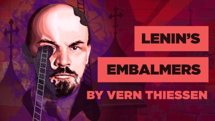A lean, mean, embalming machine: Lenin's Embalmers at the UofA Studio Theatre